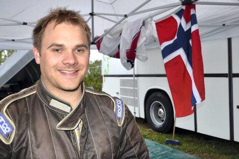 SATSER VIDERE: Stefan Åeng, NMK Rana, har vært den suverent beste rallycrossføreren i Rana de siste sesongene.