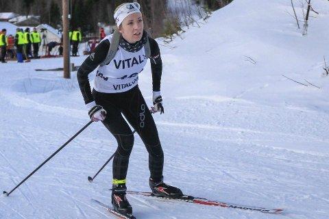 VM-KLAR: Emilie Ågheim Kalkenberg debuterer i junior-VM-sammenheng, når hun går normalprogrammet på den første konkurransedagen i rumenske       Cheile Gradistei onsdag. Foto: Per Vikan