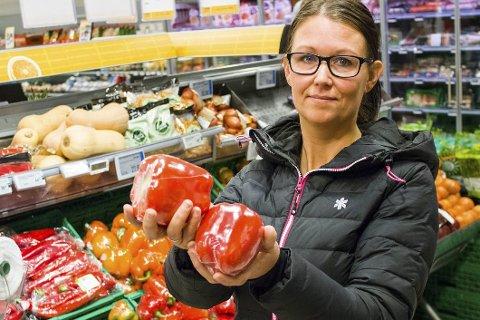 Ren mat: Ernæringsveileder Kine Melgård råder alle til å spise mest mulig rene matvarer. Hun mener at mange diffuse plager og sykdommer kan bedres ved rett kosthold. Foto: lisa Ditlefsen