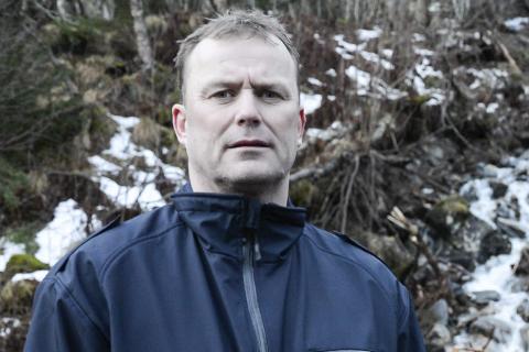Magne Linvik, avdelingsleder vei Hemnes kommune Svalengveien