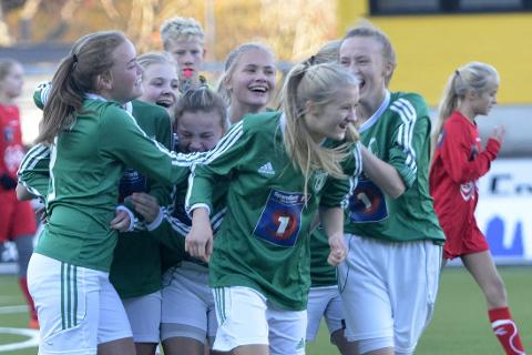KLAR: Gruben IL har to jentelag i KM-finale i Bodø.