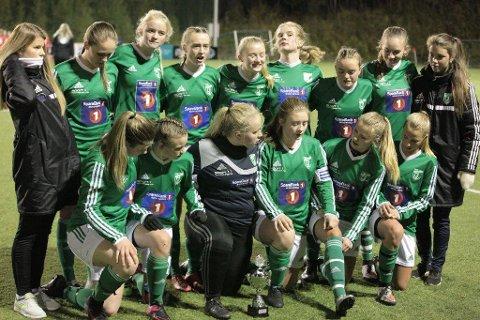 """Overlegen seier: Gruben IL vant """"bare"""" 4-2, men var spillemessig overlegne mot Grand Bodø."""