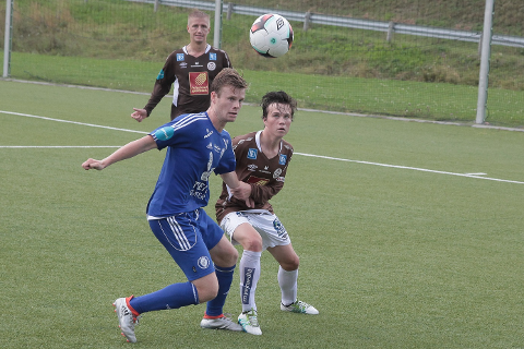 Brede Frøysa har fått mye spilletid i 2. divisjon tross sin unge alder. Han er nå G15-landslagsspiller.