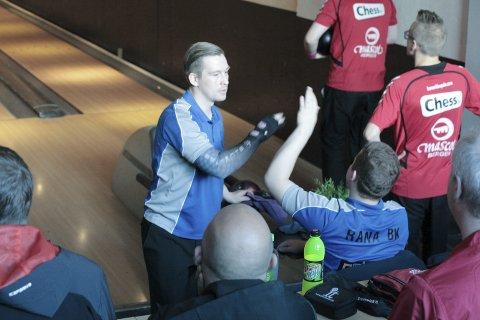 God start: Marius Kvitnes og Rana åpnet godt, men mistet seieren mot slutten av oppgjøret mot Mascot. Foto: Stian Forland