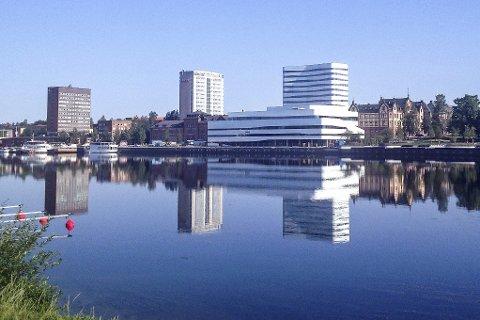 Den store smitteøkningen i Västerbotten skjer fortsatt i Umeå. Byen registrerte 40 nye smittede i uke 41. Arkivfoto.