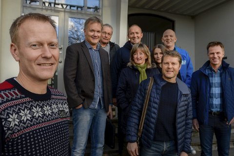 FORNØYD: Daglig leder i Arctic Race of Norway, Knut-Eirik Dybdal, fikk gode tilbakemeldinger fra kommunene som var med på å arrangere i årets sykkelfest, da de møttes til evalueringsmøte på Mo denne uka. Foto: Øyvind Bratt