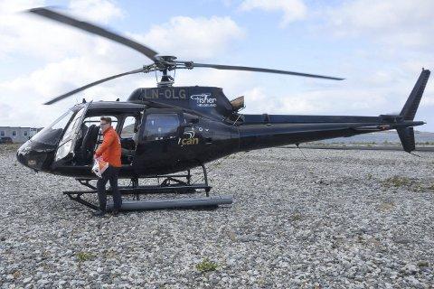 Helikopter Fisher Helgeland