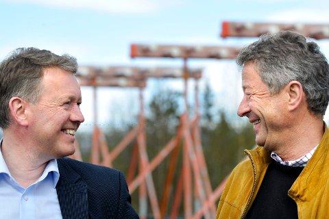 Polarcirkelen Lufthavnutvikling.  Johan Erik Wulfsberg og  Henrik Johansen.