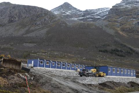 Tunnel: Veianlegget Liatind – Olvikvatnet er tilgodesett med 623 millioner kroner fram mot 2020.Foto: Arne FOrbord