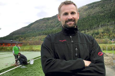 INITIATIV: Pål Vinje vil at studietilbudet innenfor idrett- og friluftsliv på Nesna skal bli synlig. FOTO: INGEBORG ANDREASSEN