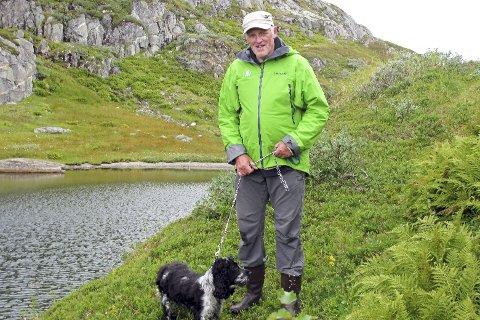 ÅRETS: Gunder Garsmark er årets friluftsentusiast. Han har vært aktiv i tilrettelegging av friluftsaktiviteter i Hattfjelldal.