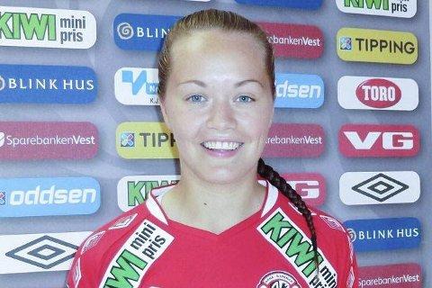 Benket: Ingrid Altermark fikk ikke spille mot Røa.