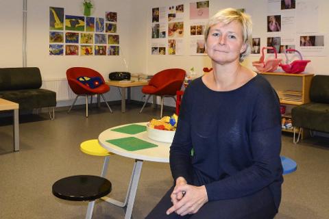 Fagsjef i Avdeling for Barn og Familie, Ann-Marit Tverå. Foto: Toril S. Alfsvåg