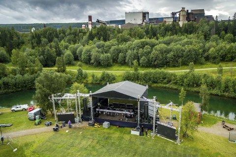 Siden 2009 har Verket blitt arrangert på Revelen. Rådmannen skal nå inngå avtale med festivalen angående leie av parkområdet.