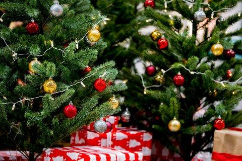 Det er ikke alltid like lett å få juletreet til å stå.