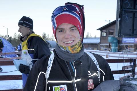 Fredrik Gjesbakk får gå IBU-cup til helga, selv om det ble stang ut i åpningsrennene på Beitostølen.  Foto: Trond Isaksen