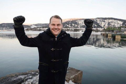 FUTURISTISK: Den nye ferja fra Umeå til Vaasa blir litt av et skue. Tirsdag sa Finland at de er med på laget og det gleder havnefogden i Rana, Svein Tore Nordhagen, som mener dette knytter Rana nærmere Europa.