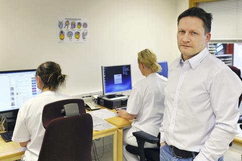 Pasientsikkerhet: Mandag 29. februar klokka 07.00 skal Helgelandssykehuset være samlet under samme digitale tak, fastslår prosjektleder Skule Stormdalshei.Pressefoto