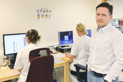 D-dagen: 29. februar innføres én journal for alle pasientene i Helgelandssykehuset, forteller EPJ-koordinator Skule Stormdalshei.