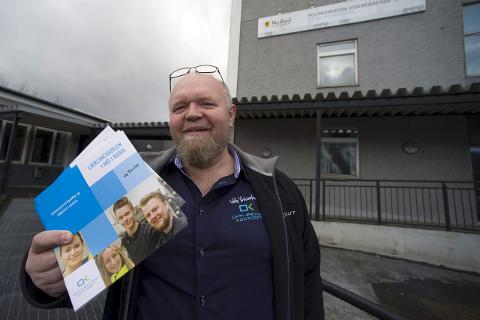 Satser på lærlinger: Opplæringskontoret Nord-Helgeland har som mål å få flere til å velge yrkesfag og fullføre fram til fag- eller svennebrev, melder daglig leder Elling Myren. Foto: Øyvind BRatt