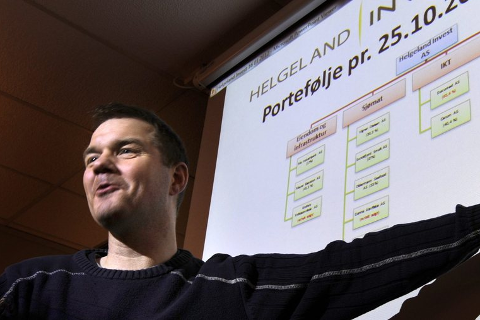 SOLIDE TALL: Helgeland Invest fikk et årsresultat etter skatt på 14,5 millioner kroner i fjor. Det er administrerende direktør Ståle Indregård fornøyd med. Arkivfoto: Øyvind Bratt