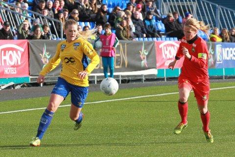 Lisa-Marie Karlseng Utland er klar for en ny sesong i Trondheims-Ørn med sesongstart klokken 13.00 andre påskedag.