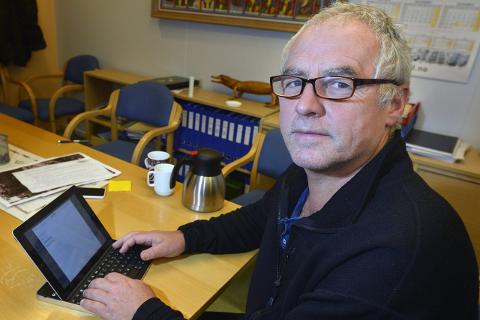 Ansvar: – Flyktningproblematikken er et nasjonalt og kommunalt ansvar, sier Sps Karl-Hans Rønning, og tar til orde for et kommunalt asylmottak. Foto: Øyvind Bratt