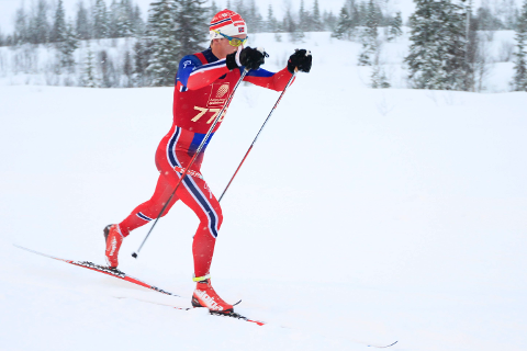 Rolf Einar Jensen slet i norgescupen i helga.