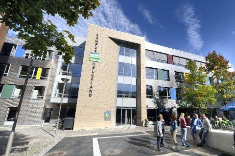 Et nytt forskningsinstitutt skal inn på Campus Helgeland. Foto: Øyvind Bratt