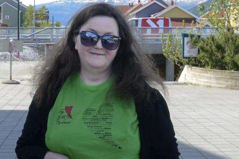 Primus motor: Liv Karin Rørvik gleder seg over at fylket har tro på prosjektet.foto: Lisa Ditlefsen