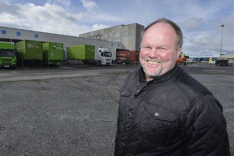FOR FRAMTIDA: – Vi har bygget Helgelandsterminalen slik at den på en framtidsrettet og effektiv måte kan være stedet for distribusjon av gods inn og ut fra regionen, sier daglig leder Leif Sagen i Meyership AS.