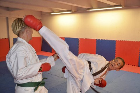 Imponerer: Julian Halsøy i Rana karateklubb tok tre medaljer i stevnet i Tsjekkia. Arkivfoto: Trond Isaksen