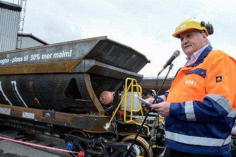 Rana Gruber og administrerende direktør Kjell Sletsjøe vil ikke lengre bruke mange millioner kroner på å oppgradere Dunderlandsbanen til 30 tonns aksellast. En oppgradering vil ikke lengre være bedriftsøkonomisk lønnsom for selskapet.