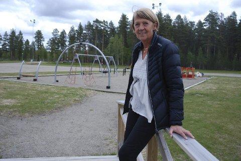 Mye å gjøre: Bibbi Åman mener det er mye å gjøre som turist på Ansia Camping. Hun har solgt campingen og går av med pensjon til høsten. Foto: Marie Skonseng