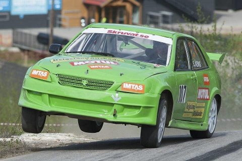 STANG UT: Stefan Åeng har fart på bilen, men har ikke hatt flaksen på sin side denne sesongen.