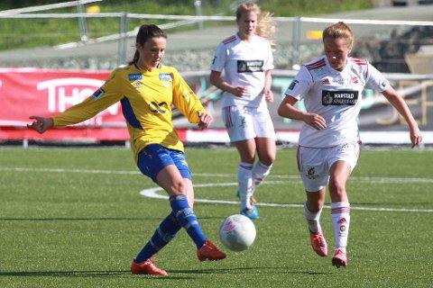 Ingrid Altermark går fra Medkila til Arna-Bjørnar. Her fra tiden i Bossmo & Ytteren.