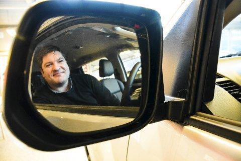 Trond Jakobsen hadde sin siste arbeidsdag på Autohuset fredag 23. mars.