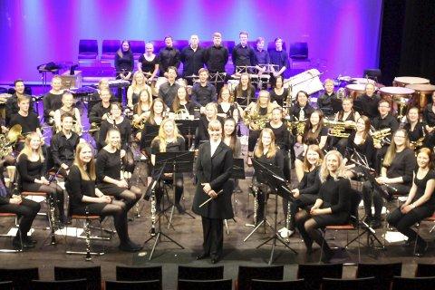 Spania: Nordland Janitsjar (NOJA) reiser på tur til Spania, hvor de skal holde tre konserter.Foto: Stig Ulvestad