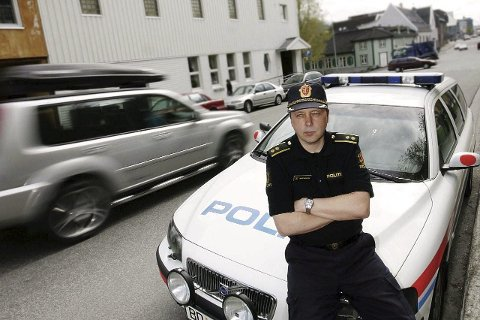 FLERE: Geir Marthinsen, distriktsleder UP i Nordland, Troms og Finnmark, er glad for at det legges en ekstra UP-patrulje til Mo.
