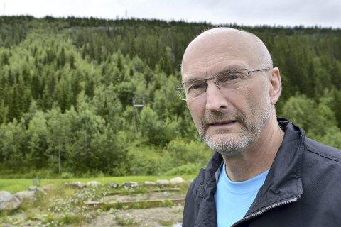 IKKE STANDARD: Leder Trond Møllersen i sakkyndig takst-nemnd sier at taksten til Rana Gruber baserer seg på avkastningen.