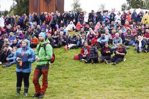 VENNSKAP: Maiken Johansen skriver i På en lørdag om vennskap, og blant annet det faktum at mange hun snakker med setter det å møte gamle kjente og henge med venner, som det beste med Verketfestivalen.