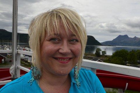 Overnatting: Nina Rødahl Friis på Havblikk gjør plass til så mange som mulig under ARN og Sjyen.Foto: Anita Hartviksen Ravn