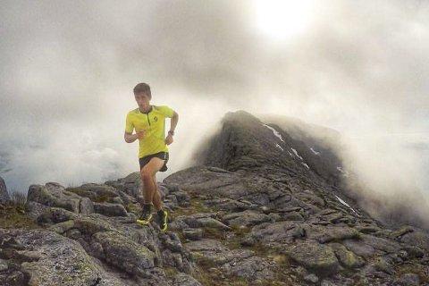 FIKK KJENNE DET: Rolf Einar Jensen måtte langt ned i kjelleren under lørdagens løp. Foto: Privat