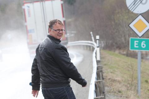 Oppstart: Graneordfører Bjørn Ivar Lamo vil diskutere med minister Solvik-Olsen om regjeringen kan gi penger i 2017 til oppstart på E6. Arkivfoto: Jon Steinar Linga