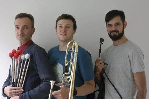 Samarbeid: Valery Bobkov, Jack Royle og Aleksandr Fartushnyj i Pair Up.