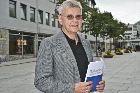 NHO: Regiondirektør i NHO Nordland, Ole Hjartøy.