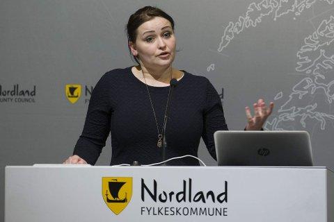 MÅ jobbe på: – Vi må bare jobbe på for å få fram resultatene Frp bidrar til i regjering, sier leder i Rana Frp ,Veronica Pedersen Åsheim.