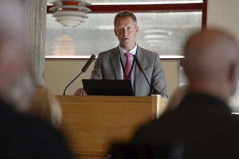 Rådmann Robert Pettersen.