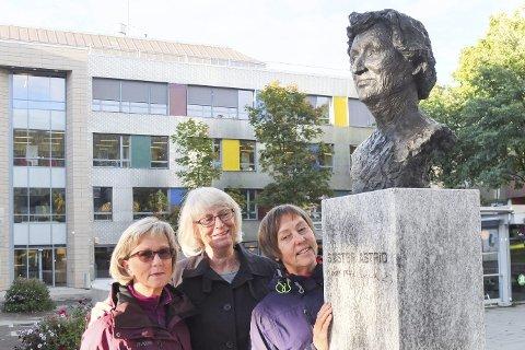 Astrid: Liv Høyen, Ruth Bratsberg og Gunvor Liland fra Mo i Rana Soroptimistklubb inviterer til miniseminar i forbindelse med utdeling av Søster Astrid-prisen.