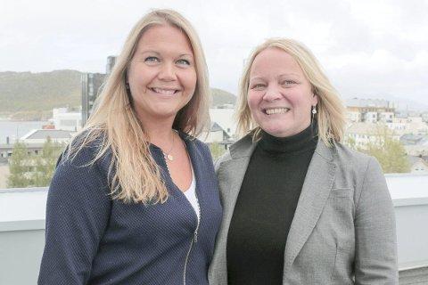 PROSJEKT: Marianne Bahr (t.v) og Mona Fagerås.